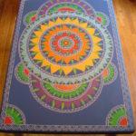 150 diseños de mandalas para decorar macetas, paredes, mesas, sillas, piedras