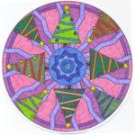 Mandalas Navideños: Diseños para niños y para colorear en Navidad
