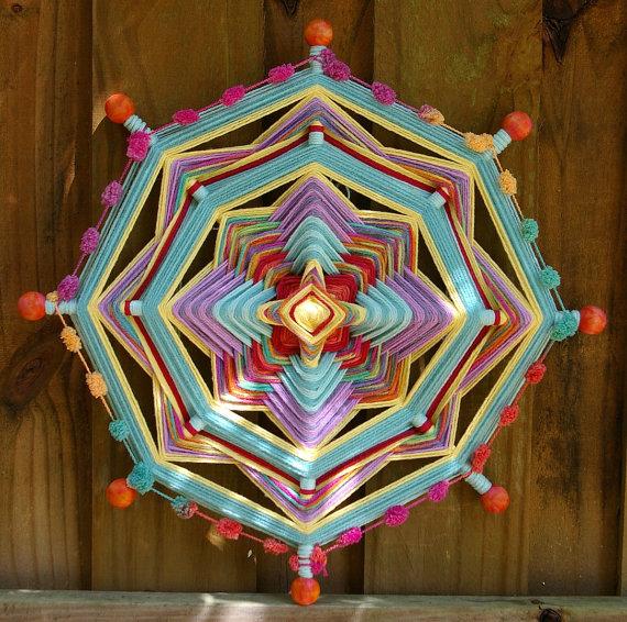 Qu 233 Son Los Mandala Ojo De Dios Huichol Dise 241 Os Mandalas