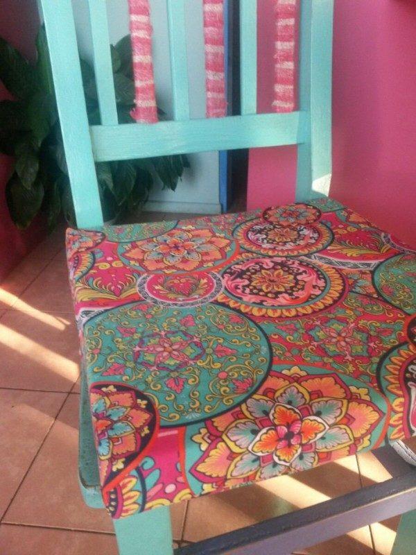 150 dise os de mandalas para decorar macetas paredes - Goma espuma para sillas ...