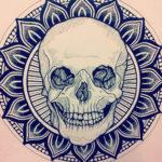 Mandalas de calaveras mexicanas para tatuaje: Significado y diseños para imprimir