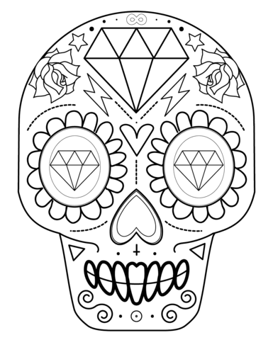 Mandalas De Calaveras Mexicanas Para Tatuaje Significado Y Diseños