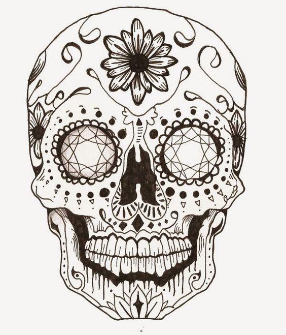 mandalas de calaveras mexicanas para tatuaje significado y dise os para imprimir mandalas. Black Bedroom Furniture Sets. Home Design Ideas