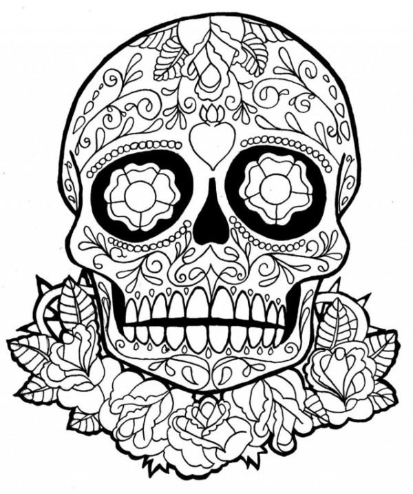 Mandalas de calaveras mexicanas para tatuaje significado for Disenos de mandalas