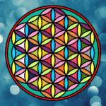 Mandala Flor de la vida: Tatuajes, diseños, dibujos para colorear de Rosa Célta