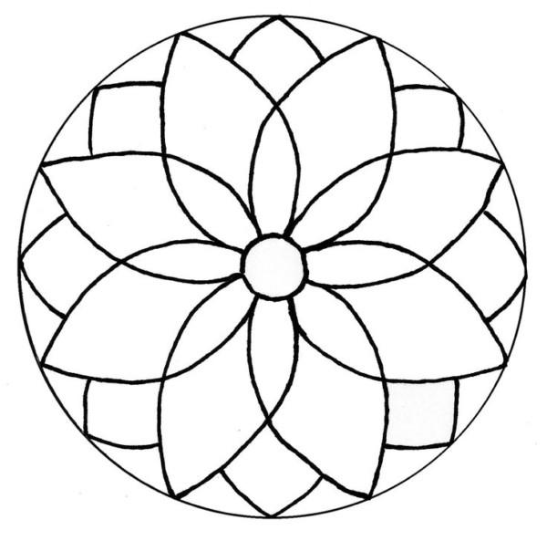Mandala Flor de la vida: Tatuajes, diseños, dibujos para colorear de ...