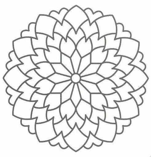 Mandala Flor De La Vida Tatuajes Diseños Dibujos Para
