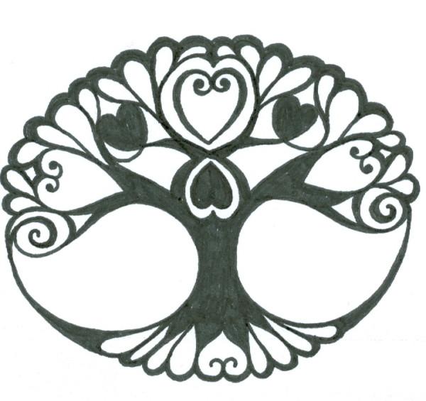 mandalas con rboles de la vida dise os y tatuajes mandalas. Black Bedroom Furniture Sets. Home Design Ideas