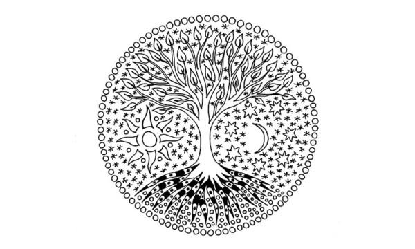 Mandalas con árboles de la vida: Diseños y tatuajes - Mandalas