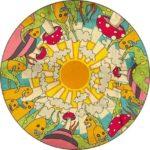 Mandalas fáciles para pintar e imprimir y para dibujar los niños