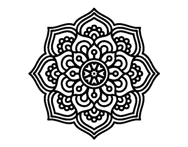 Mandalas Hindues 50 Dibujos Para Imprimir Y Colorear