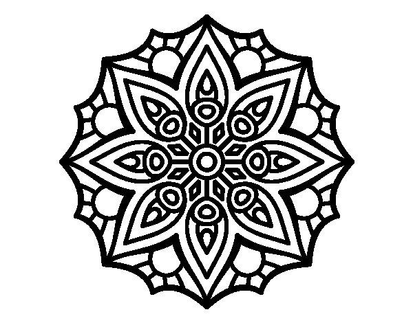 Mandalas Hindúes: 50 Dibujos Para Imprimir Y Colorear