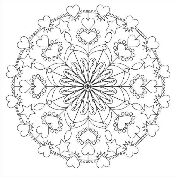 mandalas hind es 50 dibujos para imprimir y colorear mandalas. Black Bedroom Furniture Sets. Home Design Ideas