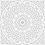 Dibujos de Mandalas para Colorear, Relajarse y Meditar