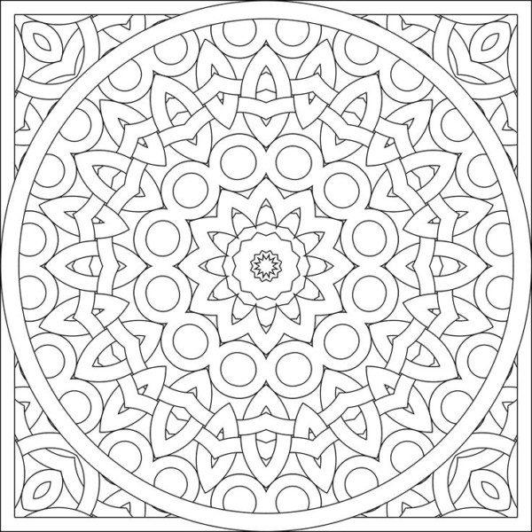 Dibujos De Mandalas Para Colorear Relajarse Y Meditar Mandalas
