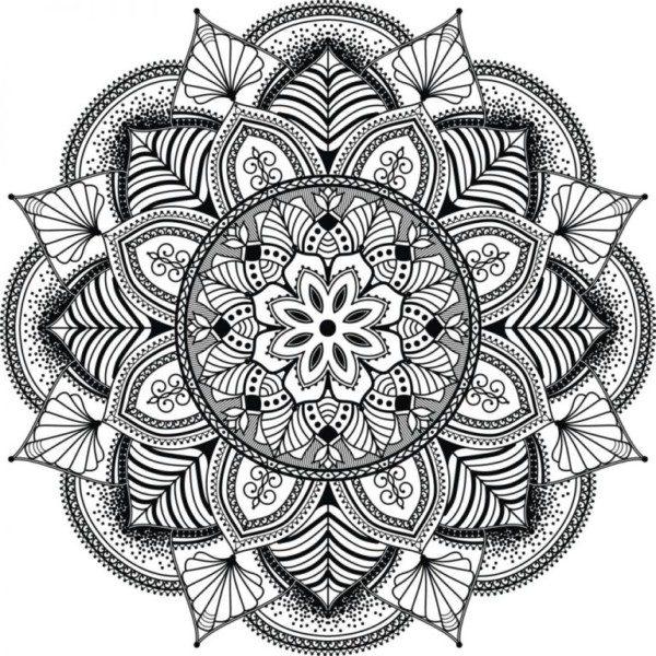 Dibujos de Mandalas para Colorear, Relajarse y Meditar | Mandalas