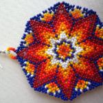 Mandala bisuteria : Mandalas en chaquiras, mostacillas, hilos