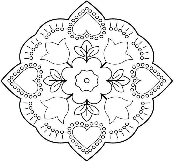 Mandalas mejicanos: Mandalas bordados mexicanos | Mandalas