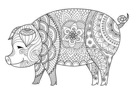 Mandalas de animales para niños, fáciles , para imprimir y ...