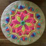 Mandalas mejicanos: Mandalas bordados mexicanos