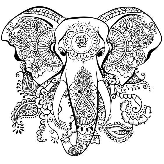 Mandalas de animales para imprimir y colorear mandalas - Mandalas de tigres ...