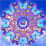 Mandalas con mariposas: Significado y diseños para colorear con mariposas