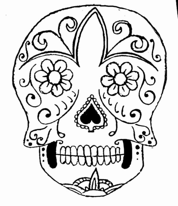 Mandalas Calaveras Mexicanas Para Colorear Mandalas