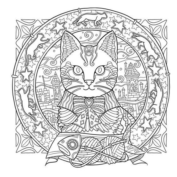 Mandalas de animales para imprimir y colorear - Mandalas