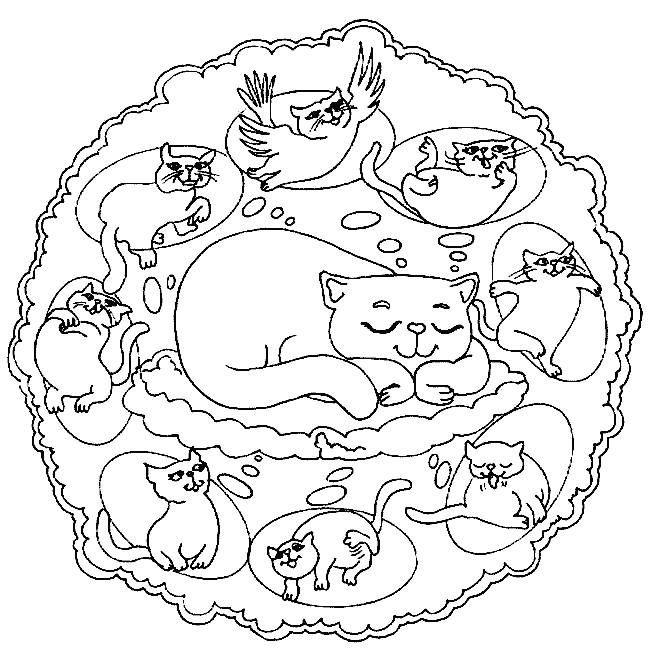 Mandalas De Animales Para Imprimir Y Colorear Mandalas