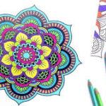 ¿Cómo dibujar y colorear mandalas?