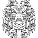 Mandalas con animales para imprimir