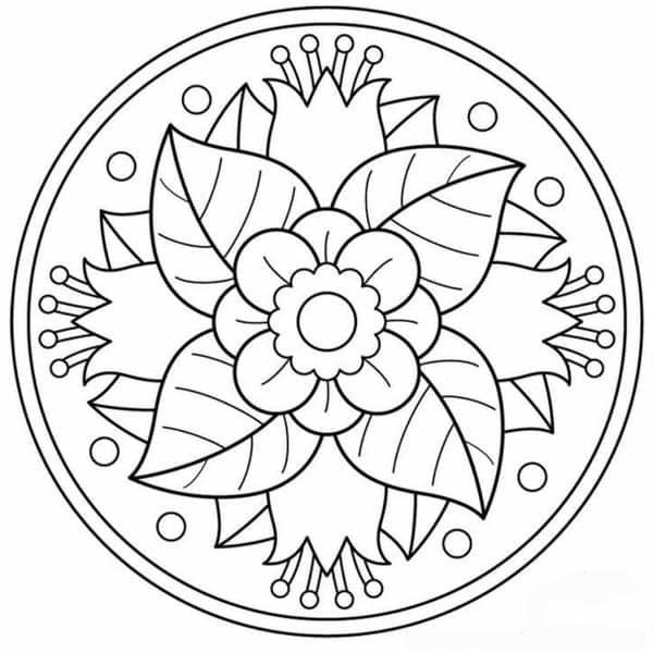 Mandalas Para Imprimir Y Faciles De Pintar