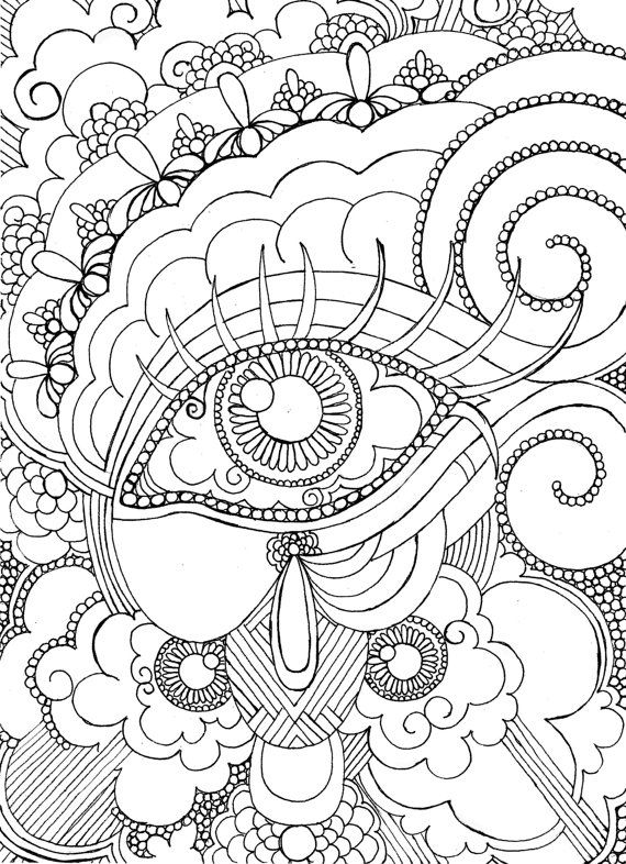 Mandalas fáciles para pintar e imprimir - Mandalas