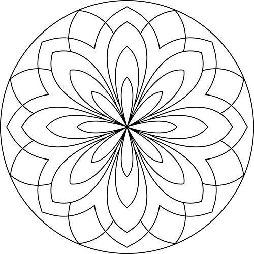 Mandalas para colorear, pintar y relajarse - Mandalas