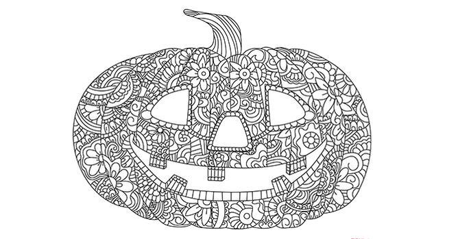 Dibujos Para Imprimir Y Colorear De Mandalas: Mandalas Para Imprimir Y Colorear En Halloween 2018