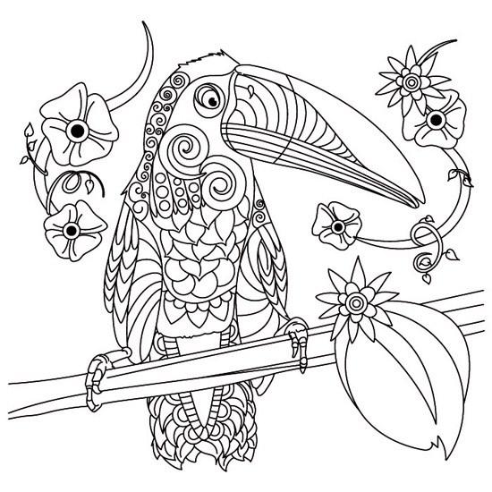 Mejores Dibujos De Mandalas Con Animales Para Colorear