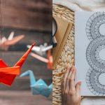 Mandalas japoneses y origami: Pasatiempos orientales