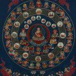 Significado Antiguo mandala japonés con estrellas: Hokuto mandala o del Big Dipper